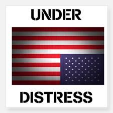 under_distress_square_sticker_3_x_3