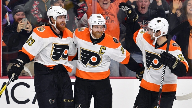 voracek-giroux-and-gostisbehere-celebrate