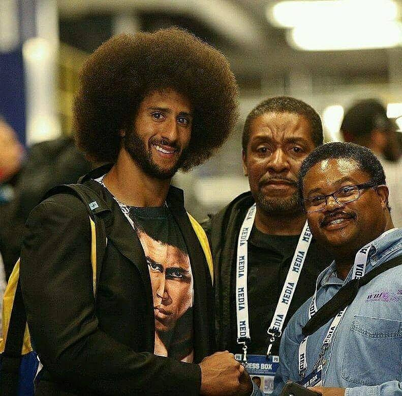 Colin Kaepernick, George Radney, and Pat Freeman The Mighty O'Ba