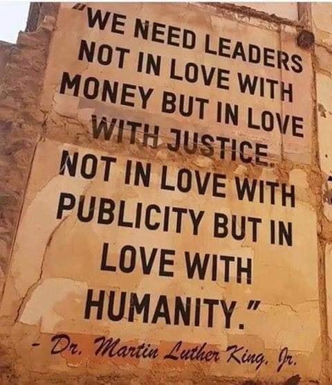 mlkjr. humanity