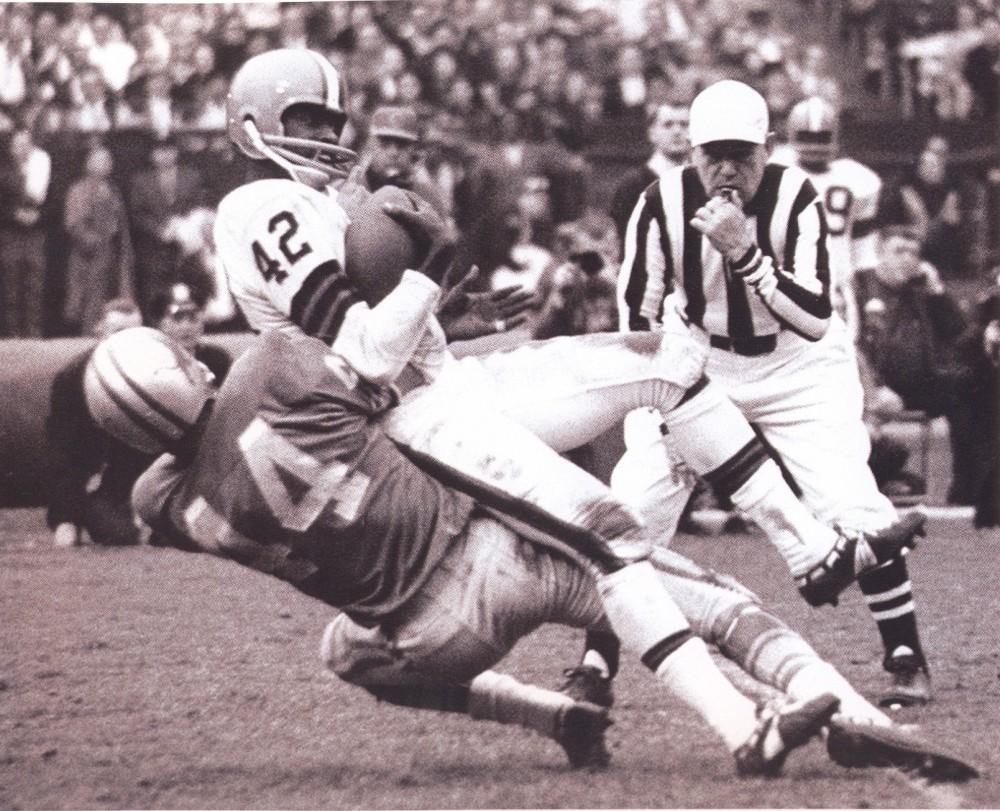 Browns 64 Road Paul Warfield, Lions Dick LeBeau