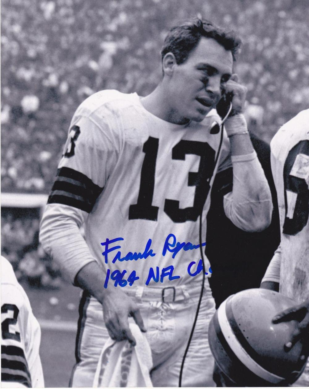 frank-ryan-cleveland-browns-1964-nfl-champs-action-signed-8x1027-t7462703-1600
